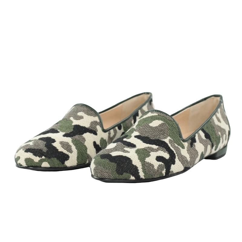Zapatos baratos camuflaje jon josef slippers