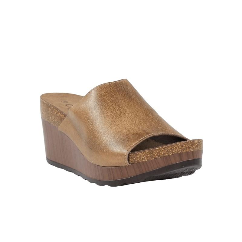outlet de zapatos sandalias carmela cuña cómoda.