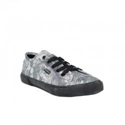 Tienda de zapatos baratos zapatillas refresh tejido floral negro