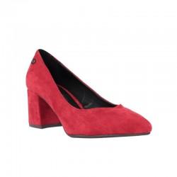 Zapatos invierno mujer salones rojos xti
