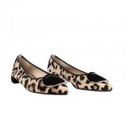 Zapatos planos mujer bailarinas leopardo miuxa