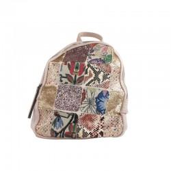 Oferta online mochila lona rosa refresh