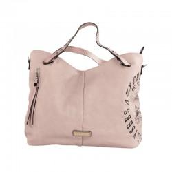 Tienda online de bolso barato refresh rosa tejido
