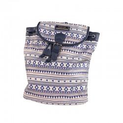 Outlet mochilas mujer baratas multicolor tejido