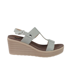 Sandalias confortables mujer grises de cuña xti