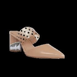 Hannibal laguna zapatos destalonados nude