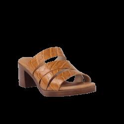 Sandalias confortables tacón suela gel