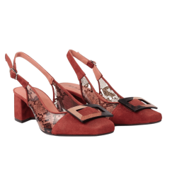 Zapatos de salón vinilo sarah verdel