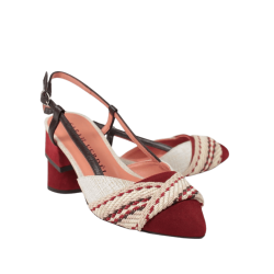 Zapatos de mujer verano destalonados tacón sarah verdel