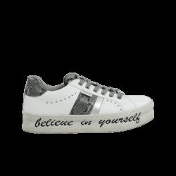 Zapatillas mujer refresh blancas con cordones