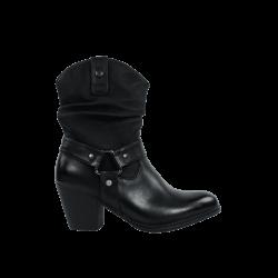 Comprar botines baratos de mujer negros de la marca refresh
