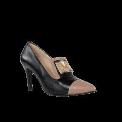 Zapatos mujer pago contrarembolso de tacón fino piel