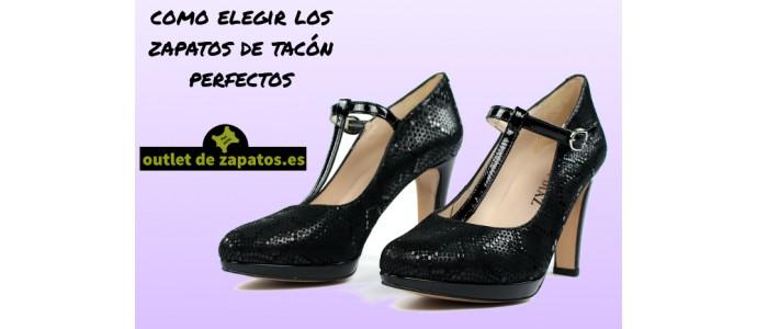 Como elegir los zapatos de tacón perfectos
