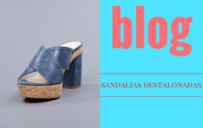 Sandalias destalonadas