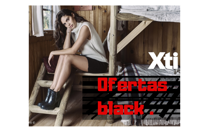 Ofertas botines xti para el black friday.