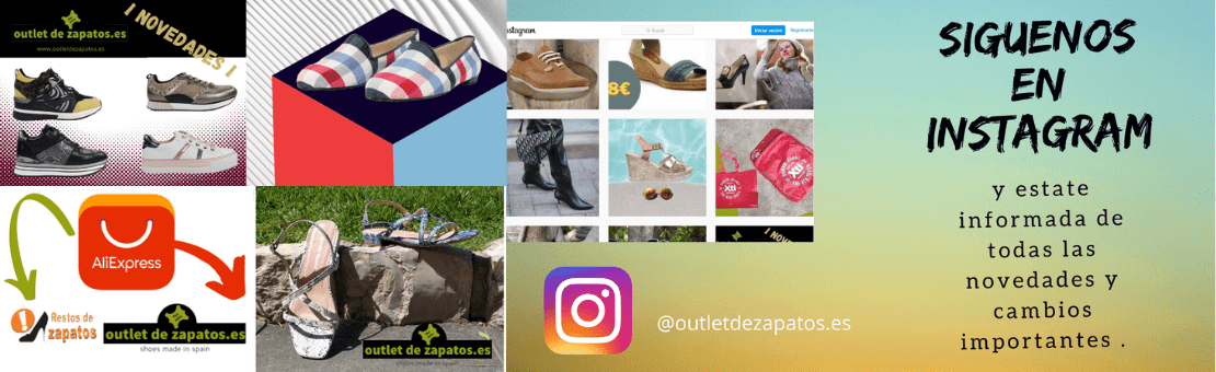 outlet de zapatos instagram